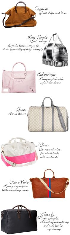 Weekend Getaway, Weekend Getaway, #weekender #bag, #travel, via The Style Umbrella, favorite weekender bags