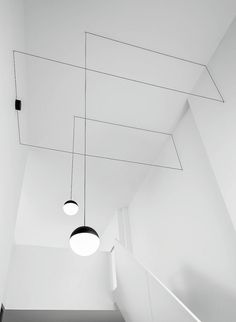 String Lights by Michael Anastassiades for FLOS #lighting #lightingdesign #flos #michaelanastassiades