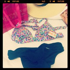 #VSTeenyBikini @Victoria's Secret