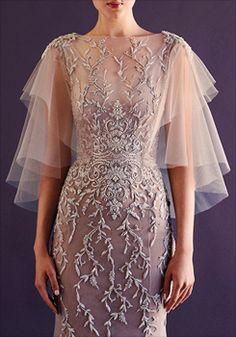 Details - Paolo Sebastian Fall/Winter 2014 Bridal