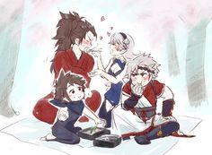 Fire Emblem: If/Fates- Ryoma,Kamui,Shinonome & Kanna