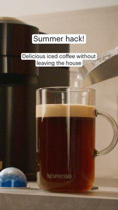 Iced Mocha, Iced Latte, Iced Coffee, Coffee Cups, Nespresso Usa, Nespresso Recipes, Coffee Break, Coffee Time, Home Coffee Stations