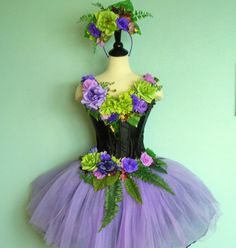 FAIRY COSTUME Midnight Faerie Dell queen adult by FairyNanaLand, $285.00