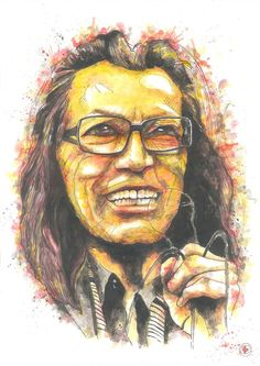 Sixto Rodriguez by diogenis papadopoulos, via Behance