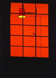 Patrick Caulfield - Window at Night 1969