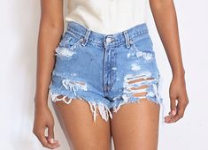 All Sizes Custom Made Destroyed Dirty Ripped by ShopAudella, $39.99