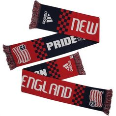 adidas New England Revolution Checker Bars Scarf