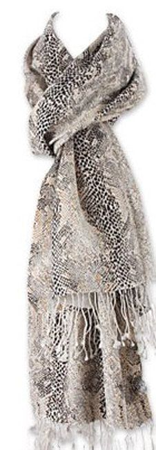 Celebrities who wear, use, or own Tolani Reptile Snakeskin Print Scarf. Also discover the movies, TV shows, and events associated with Tolani Reptile Snakeskin Print Scarf. Animal Print Belts, Stay Warm, Reptiles, Snake Skin, How To Make, How To Wear, Celebrities, Las Vegas, Outfits