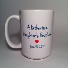 Father's Day Mug, Custom Coffee Mug, Personalized Gift on Etsy, $12.00