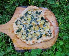 Albion Cooks: Kale, Leek & Potato Pizza for St Patrick's Day