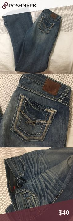 """Buckle """"Stella"""" Light wash Jeans Gently used ! Smoke and pet free home! Buckle Pants Boot Cut & Flare"""