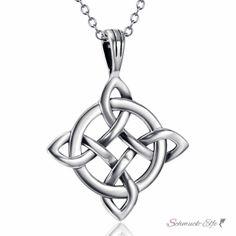 Anhänger Amulett Knoten keltisch aus 925 Silber inkl....