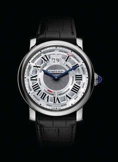 www.watchtime.com | watches  | Rotonde de Cartier Annual Calendar  | cartier ac wg