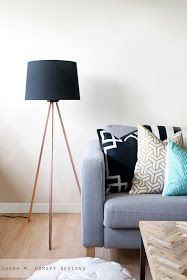 Amazing floor lamp DIY