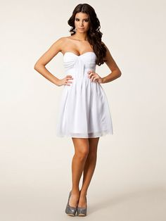 Nelly bandeau kleid