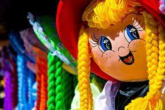 Rubia muñeca de trapo by Sojon, via Flickr