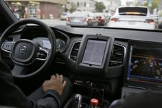 Uber's self-driving cars will return to California's streets, though the ride-hailing company doesn't immediately plan to pick up passengers.Uber received a permit Wednesday to test two Volvo SUVs on public roads, the California Department of Motor. Volvo, Self Driving, Driving Test, Mercedes Benz, Toyota, Initial Public Offering, San Francisco, California, Top Cars
