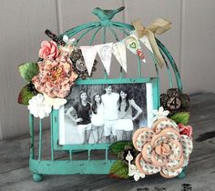 Lyric frame by Cari Fennell for Prima!