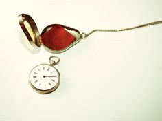 Check out Antique silver pocket watch by Patricia Hofmeester on Creative Market