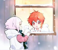 Ten et Riku Anime Music, Anime Art, Anime Chibi, Kawaii Anime, Manga, Bandai Namco Entertainment, Natsume Yuujinchou, Bishounen, Kawaii Drawings