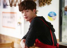 """""""Cheese in the Trap"""" Reveals BTS Pictures of Seo Kang Jun 