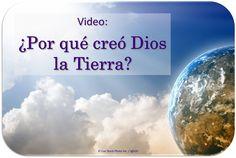 Por favor, vea este video.  Entonces lea este artículo. (https://www.jw.org/es/publicaciones/libros/buenas-noticias-de-parte-de-dios/proposito-de-dios-para-la-tierra/)