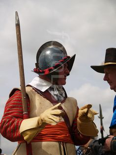 English Civil War Soldier.