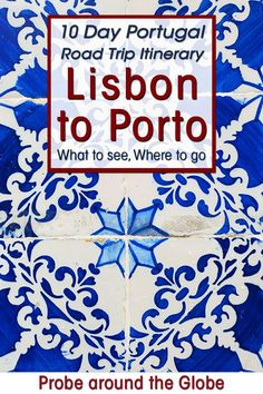 Check my epic 10 day Portugal itinerary from Lisbon to Porto. Read my tips for your Portugal road trip on where to stay, what to see and do on your Portugal itinerary #portugal #lisbon #porto #roadtrip