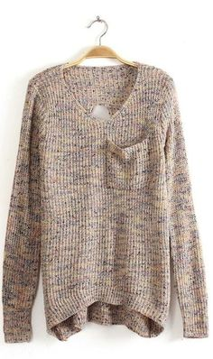 Tan oversized Sweater. <3 I loooove oversized sweaters!