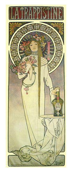 Alphonse Mucha✖️Alphonse Mucha (Czech, 1860 - 1939). ✖️FOSTERGINGER AT PINTEREST ✖️
