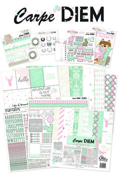 Glitz Design Carpe Diem- LOVE the colors.  My fave this year!!