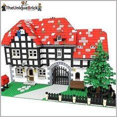 """""""Silver Pot Inn"""" - PDF-Bauanleitung- Kompatibel zu LEGO [10242 10235 70404]"""