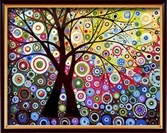 Wooden Framed DIY PBN-paint by numbers Abstract tree-3, 1... https://www.amazon.com/dp/B01CLHNRQS/ref=cm_sw_r_pi_dp_x_hFmkybM7WFYKG