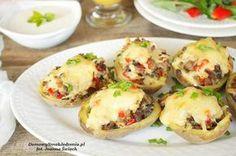 ziemniaki faszerowane z piekarnika