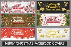 Merry Christmas Facebook Covers  @creativework247
