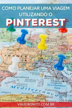 Como planejar uma viagem utilizando o Pinterest. Créditos: ShutterOK / Fonte: Shutterstock