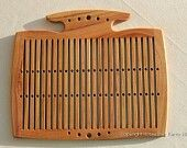 Double holed heddle...from etsy...too pricey for me:-)