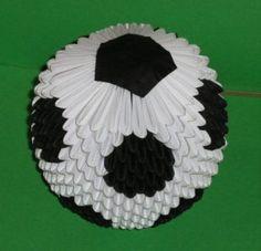3D Origami – Soccer Ball