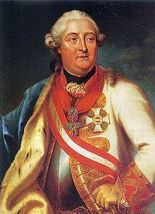 Pfalzgraf (Pfalz-Earl) Friedrich Michael Von Zweibruecken ( 1724-1767) son of Herzog (Duke) Christian 3 of Zweibruecken