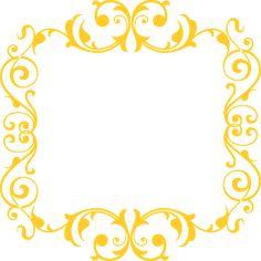 Frames arabescos de brinde