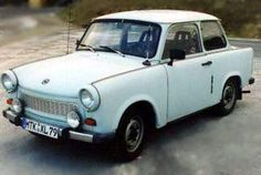 Trabant- saw these everywhere in Germany in 1990 and 1991