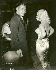 Clark Gable & Mamie Van Doren