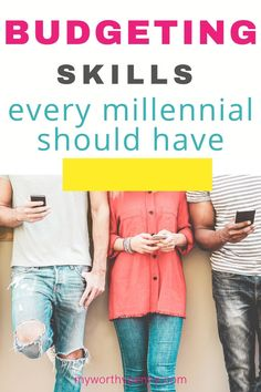 What are the budgeting skills that every millennial should have? Here is a list of the best budgeting skills that every adult should have. What Is Budget, Best Budget, Apps For Couples, Set Up Account, Debt To Income Ratio, Check Your Credit Score, Budget App, Eyes On The Prize, Living On A Budget