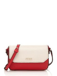 Geanta Guess crossbody dama piele rosu cu bej Kate Spade, Fashion, Moda, Fashion Styles, Fashion Illustrations