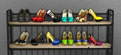 Sims 4 CC's - The Best: SHOES DECO by LeoSims