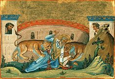 """St. Ignatius of Antioch, feast day oct 17, """"I prefer death in Christ Jesus to power over the farthest limits of the earth. He who died in place of us is the one object of my quest. He who rose for our sakes is my one desire."""""""