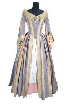Costume designed by Dorothy Jeakins for Fay Wray in Treasure of the Golden Condor (1953).