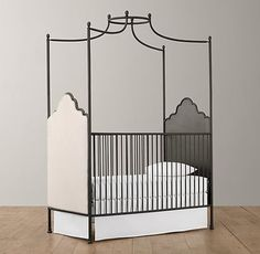 Inspiring Pieces for a Little Girl's Nursery by Jeanine Hays on Houzz. Contemporary cribs by Restoration Hardware Baby & Child