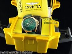 invicta men s 12742 bolt analog display swiss quartz gold watch invicta men 48mm flight master specialty leather strap watch w 1 slot dive case