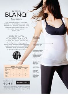 Maternity Underbust High-Performance Belly Support Tank